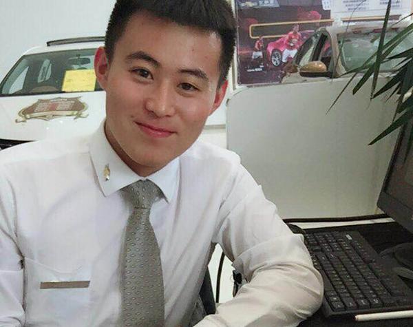 15汽修 孙泳洁 大连雪佛兰汽车服务有限公司